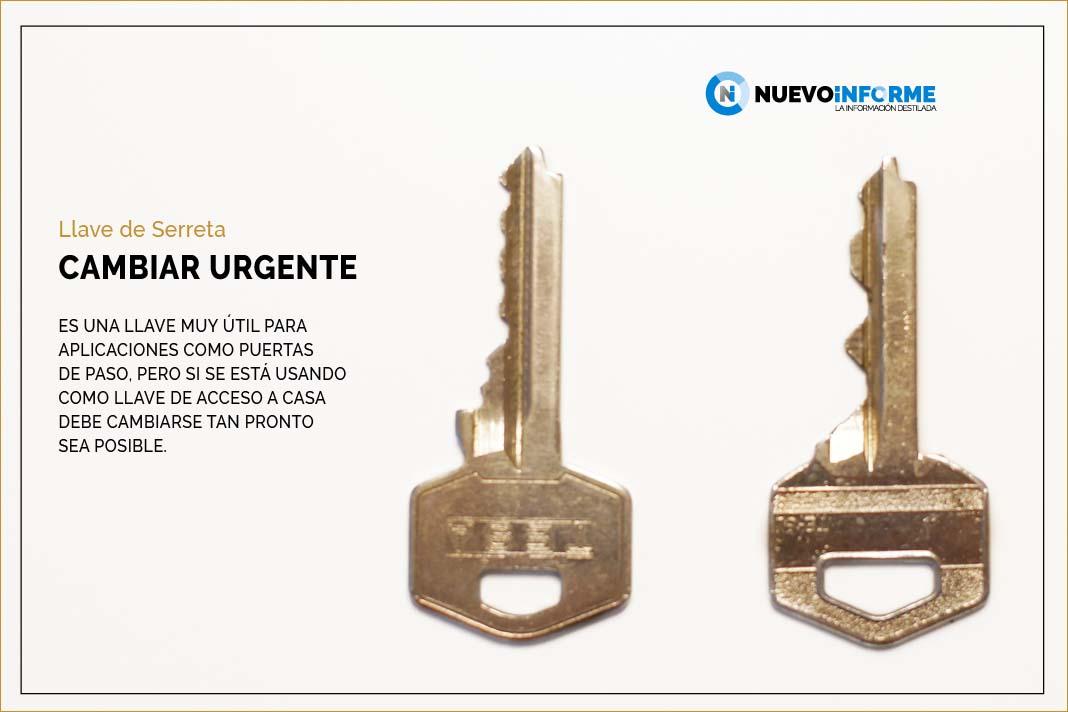 llave de serreta