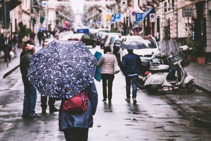 record semana mas lluviosa en España